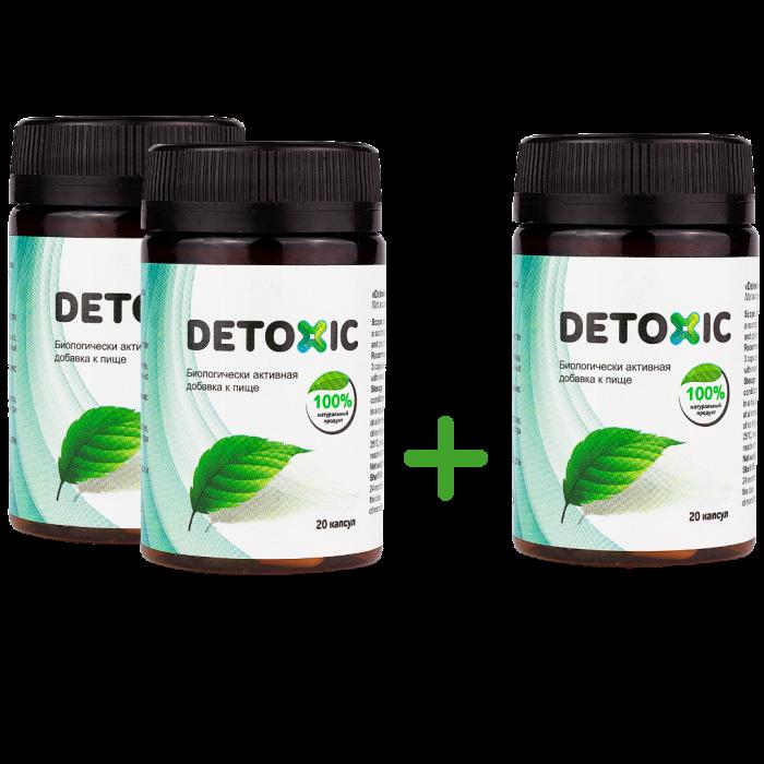 Detoxic 2 plus 1 gratis